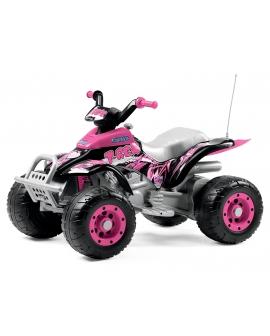 Quad-életrico-Corral-T-Rex-Pink-OR0073-Peg-Perego-Agridiver