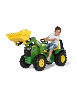 Trator-pedais-John-Deere-8400 R-RollyX-Trac-Premiun-651047-Rolly-Toys-Agridiver