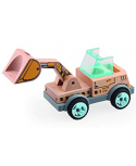 Construção de carros. Excavadeira