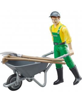 Conjunto-agricultor-acessórios-62610-Bruder-Agridiver