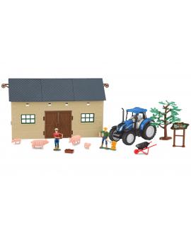 Set de granja 1 con tractor New Holland T5.120