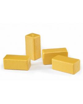 Pack de 4 pacas de heno rectangulares