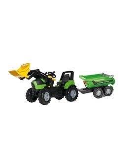 Trator-pedais-Deutz-Agrotron-7250-TTV-RollyFarmtrac- pá-reboque-Halfpipe-710034-122240-rolly-toys-agridiver