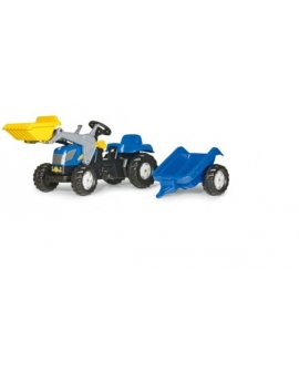Trator-a-pedais-New-Holland-T7040-pa-remolque-rollykid-023929-rollytoys-agridiver
