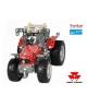 Trator Massey Ferguson 5610 a escala de montagem