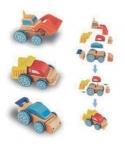 Carros intercambiáveis