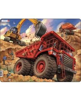 Puzzle de caminhão trabalha