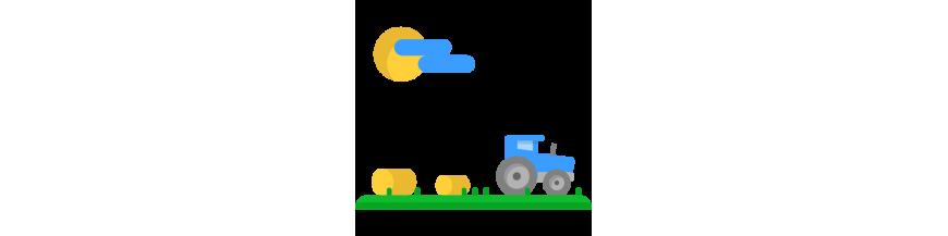 Tratores e caminhões de brinquedo